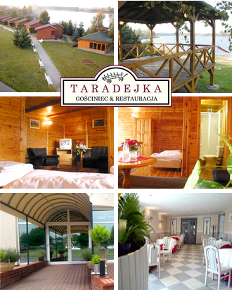 Pension in Polen Gasthaus Taradejka Karte